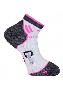 Running 2-pak Hvid/pink