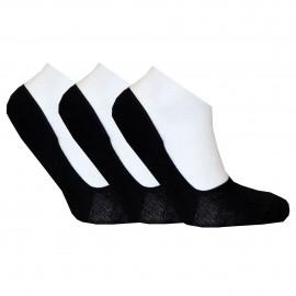 Steps - 3-Pak Sort eller hvid.