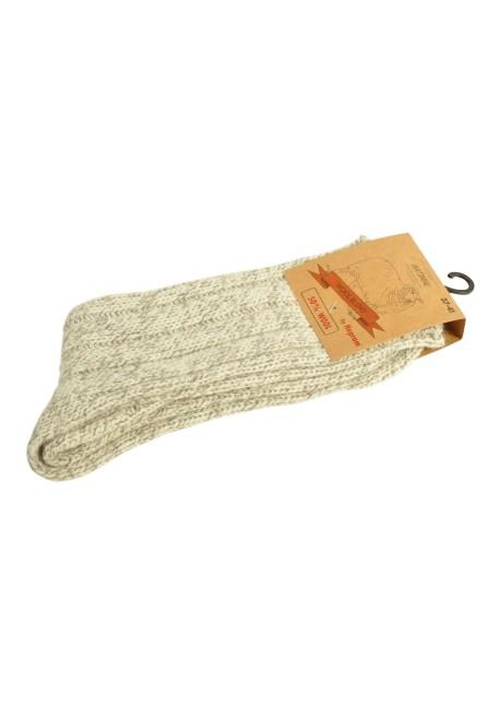 Wool Blend - Rak Lys grey