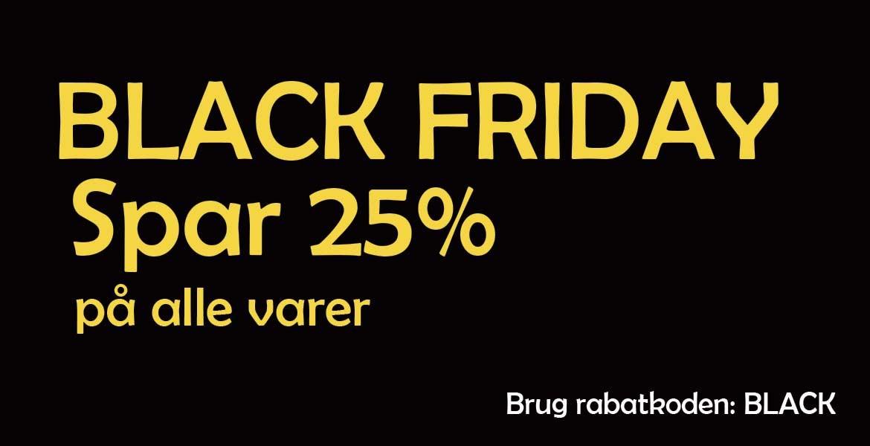 Black Friday Spar 25 %